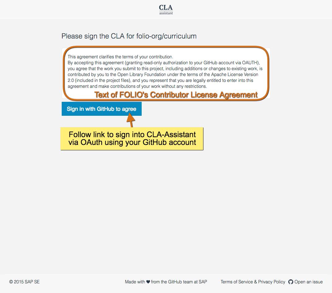 FOLIO Developers | Guidelines | FOLIO Project Contributor